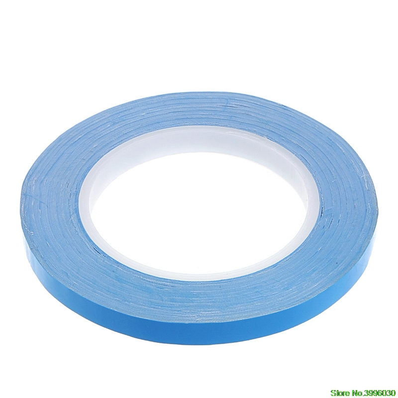 Adhesive Tape Double Side Transfer Heat Thermal Conduct For LED PCB Heatsink CPU 20mm набор бит fit 10шт wp профи 57579
