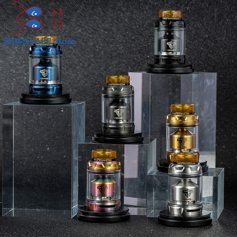 Original THC Tauren RTA 2ml / 4.5ml With 26 Hexagonal Honey Combed Air Holes And Single Coil Tank / Double Coils VS Tauren Solo