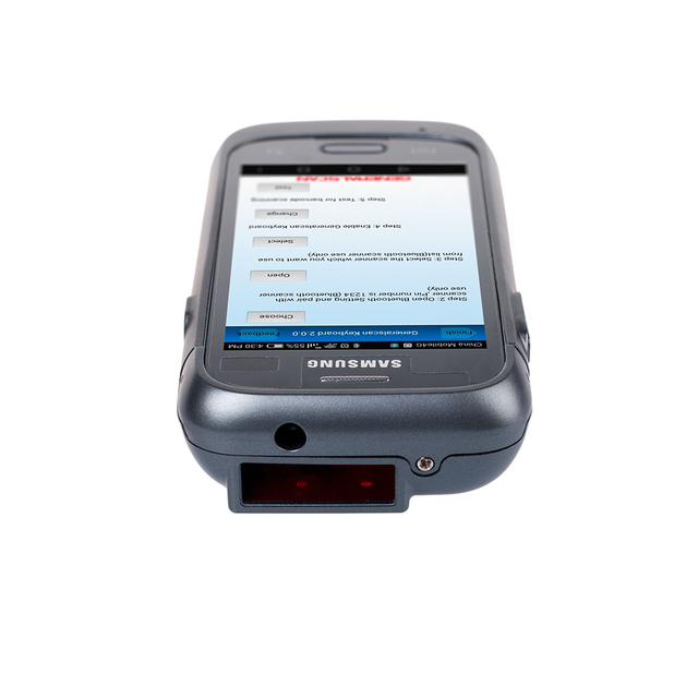 Promotion!!! Dark Grey Color Generalscan GS SL2100BT-4.0 1D Laser BT4.0 Android Enterprise Barcode Scanning Sled