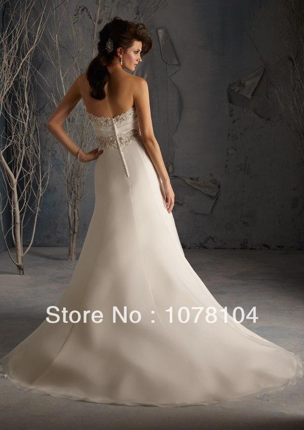 Latest Designs Organza Mermaid Sweetheart Neckline Crystal Beading Wedding  Factory Dresses Wedding Dress In Cream Color-in Wedding Dresses from  Weddings ... ef12cf928edc