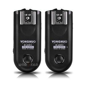 Image 2 - YONGNUO RF 603 II N1 Radio Draadloze Afstandsbediening Flash Trigger voor Nikon D810A D810 D800E D800 D700 D500 D5 D4 D3 d850 D300S MC 30