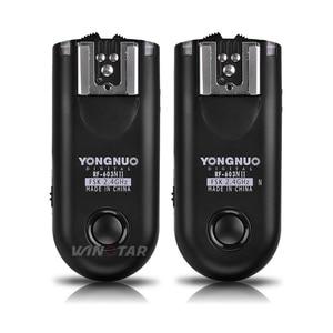 Image 2 - YONGNUO RF 603 II N1 Radio Wireless Remote Flash Trigger for Nikon D810A D810 D800E D800 D700 D500 D5 D4 D3 D850 D300S MC 30