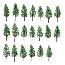 20 шт моделирование деревьев в масштабе «Хо»