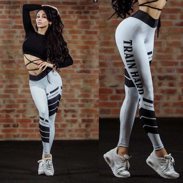 Train Hard Fitness Leggings 4