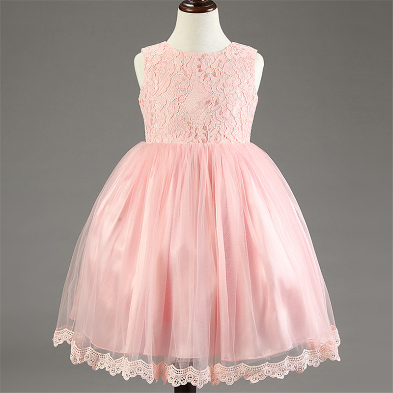 Elegant Lace Newborn Baby Girl Ball Dress Baby Tulle