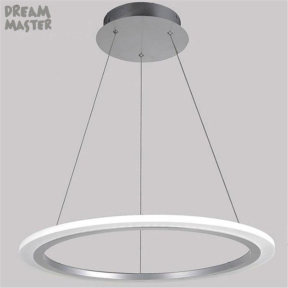modern led pendant light acrylic lamp bedroom dining room kitchen lamps lights lamparas de techo plafonnier