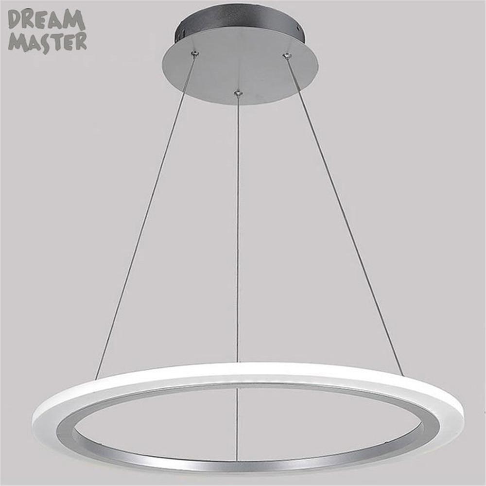 US $59.99 |Moderna luce del pendente del led acrilico camera da letto  lampada da sala da pranzo lampade da cucina luci lamparas de techo  plafonnier ...
