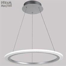 цена на modern led pendant light acrylic lamp bedroom dining room kitchen lamps lights lamparas de techo plafonnier fixture lighting luz