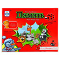 MEMORY Board Game Russian/English Version  Puzzle Game For Children Gift  Send Russian/English Instructions  With Free Shipping