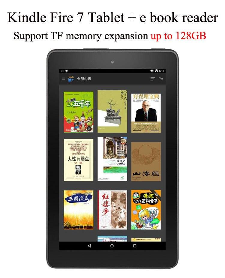 Nouveau 7 pouces Kindle Fire 7 tablette 8G e livre lecteur électronique livre tablette PC ereader écran tactile tablette