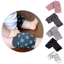 New Baby Kids Pads Crawling Protector Cotton Kneecaps Children Short Kneepad Child Safety Leg Warmers Baby Knee Protection Cover