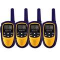 4 шт. Мини Walkie Talkie 22CH 0.5 Вт UHF 462.5625-476.7125 FRS/GMRS VOX ЖК-Дисплей для Детей Игрушка в подарок Радио A9112L