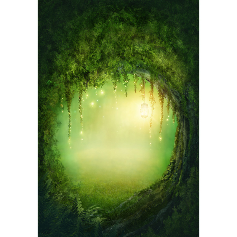 Vinyl Photography Background Computer Printed Fairy Tale Magic Forest Children Backdrops for Photo Studio ZH-69 vinyl photography background bokeh computer printed children photography backdrops for photo studio 5x7ft 888