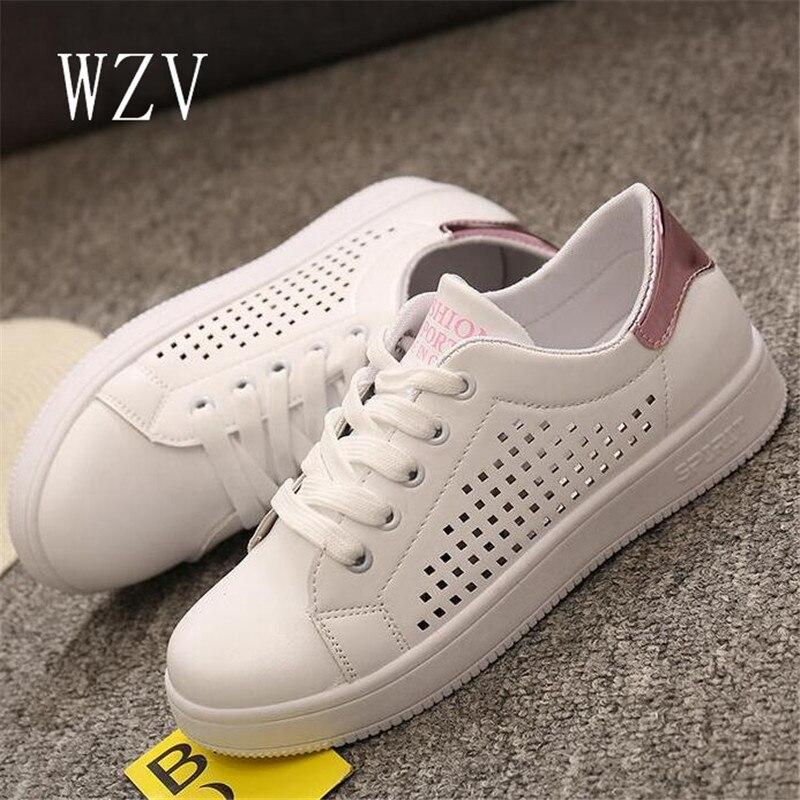 WZV mujeres Zapatos Casual Otoño mujeres Capacitadoras Pisos Transpirables Zapat