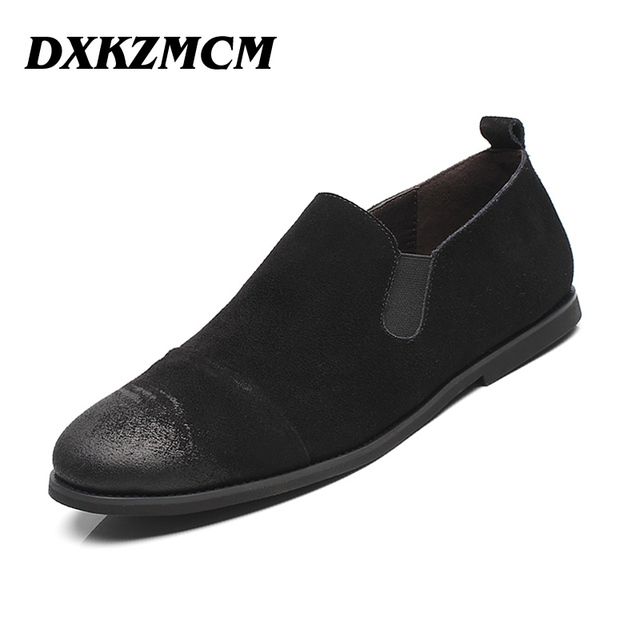 2017 Handmade Genuine Leather Men Dress Shoes, Business Brand Leather Men Shoes, Casual Design Men Flats, Men Oxfords