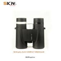 SKWoptics Sniper 8x42 compact Binoculars Birdwatching Hunting Phase Coated Waterproof Bak4,Fogproof