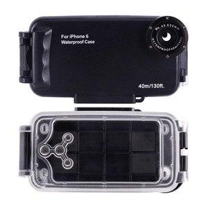 Image 3 - IPhone 6 6 s 7 7 Artı 6 Artı Su Geçirmez Dalış Konut Kapak Kılıf PC ABS Çantası Kir/ şok Geçirmez Fotoğraf Video Alarak Sualtı