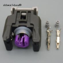 Shhworld Sea 1 комплект 13816706 2-контактный автомобильный герметичный топливный инжектор разъем для Buick Chevrolet Great Wall