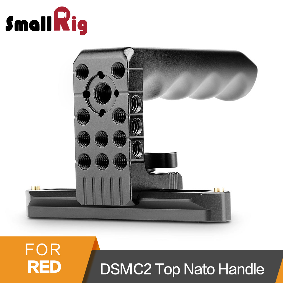 SmallRig Top Handle Camera Cheese Handle with Nato Rail and Arri Locating Pins for RED Camera