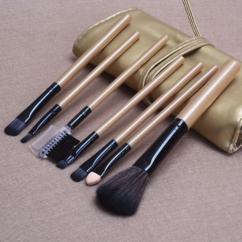 New 7 Pcs Makeup Brushes for Women Make Up Brush Cosmetic Makeup Tools colorful heart shape clean make up brushes wash brush silica glove scrubber board cosmetic cleaning tools for makeup brushes