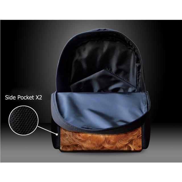 INSTANTARTS Hot Game Ninjago Print Baby Boys Mini Schoolbags Kindergarten Students Backpacks Children Back To School Bookbags
