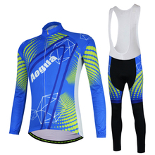 New Design Thermal Fleece Winter Cycling Jersey Sets Long Sleeve Outdoor Sports Bycle Cycle Clothing Quk Dry Riding Clothes