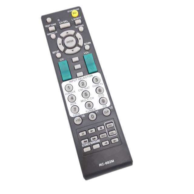 US $12 0 |RC 682M For Onkyo A/V Receiver Remote Control TX SA605 TX SR605  TX SA8560 TX SA605 Replaced RC 681M-in Remote Controls from Consumer