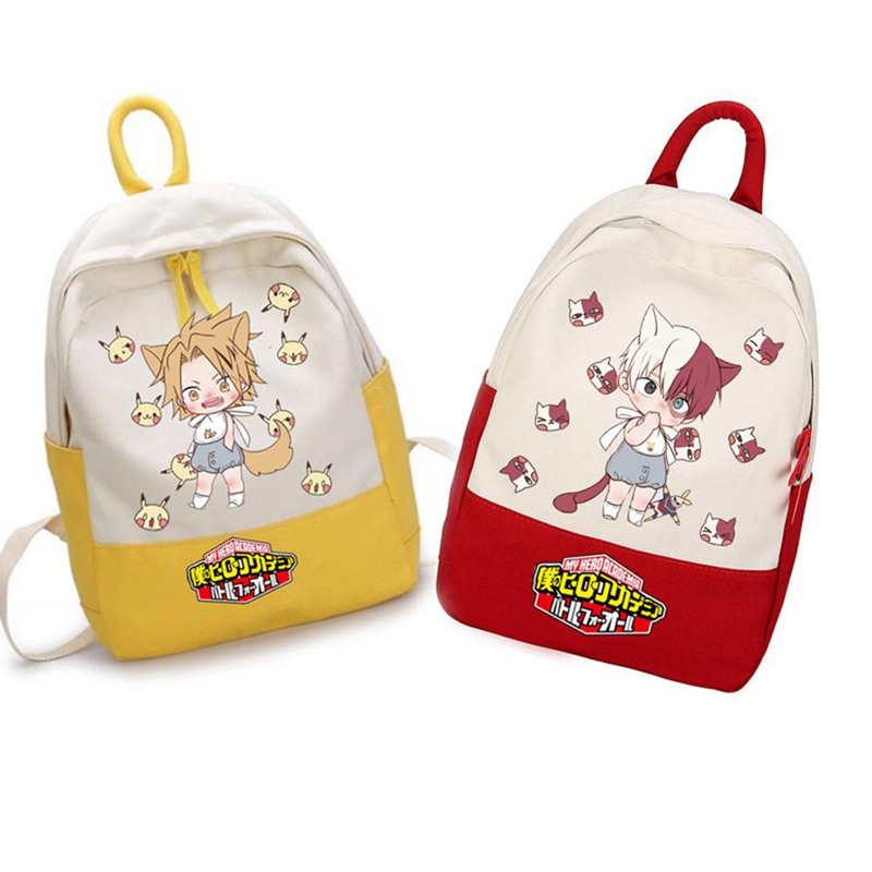 My Hero Academia Student Backpack Anime Schoolbag Leisure Oxford Computer Bag Women Men School Bags Teenage Girls Boys