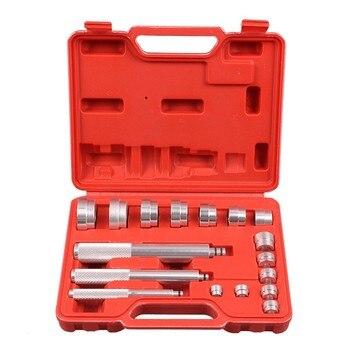 17 Uds herramienta de desmontaje de aleación de aluminio cojinete pequeño sello de carrera Bush Driver tool Set herramienta de reparación de automóviles