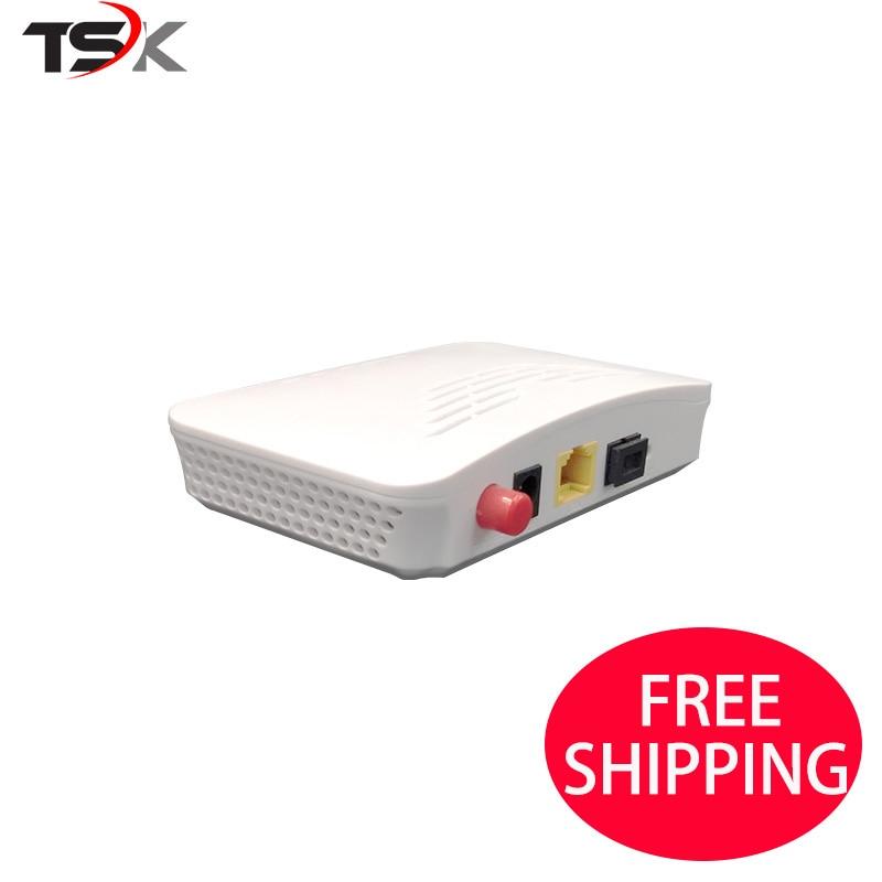 5 pcs EPON onu EPON FTTH 1GE 1 porta Gpon OLT FTTH ONU ONT Única Porta LAN 1.25G ZTE chipset de Fibra para a casa