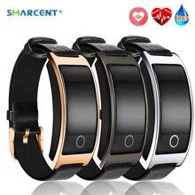 Smarcent CK11S SmartBand артериального давления монитор сердечного ритма Smart Браслет часы фитнес-трекер Шагомер Браслет PK mi Группа 2