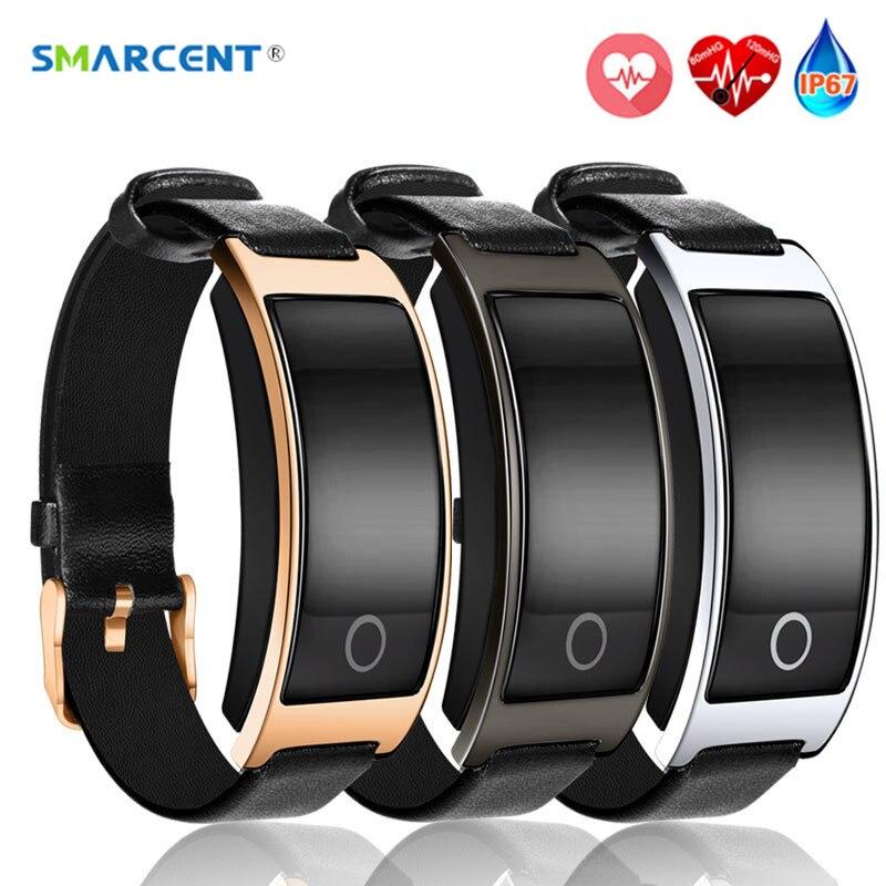 imágenes para SMARCENT CK11S Smartband Presión Arterial Monitor de Ritmo Cardíaco Reloj Pulsera Inteligente Perseguidor de La Aptitud Podómetro Pulsera pk mi banda 2