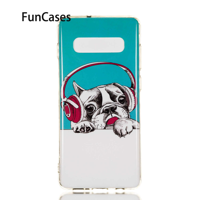 Telefon Case For Samsung J4 2018 Soft Silicone Shell sFor Samsung Galaxy S9 Plus S10E S10 Lite 5G J2 Core J3 2018 J4 J6 J7 J8