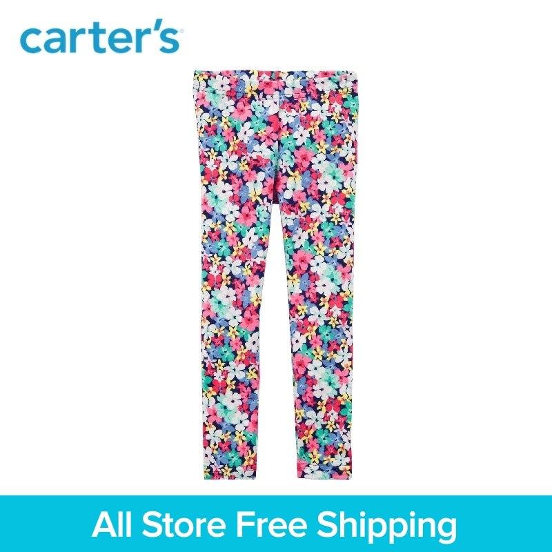 Carters 1-Piece baby children kids clothing Gril Spring Summer Floral Leggings 236G657