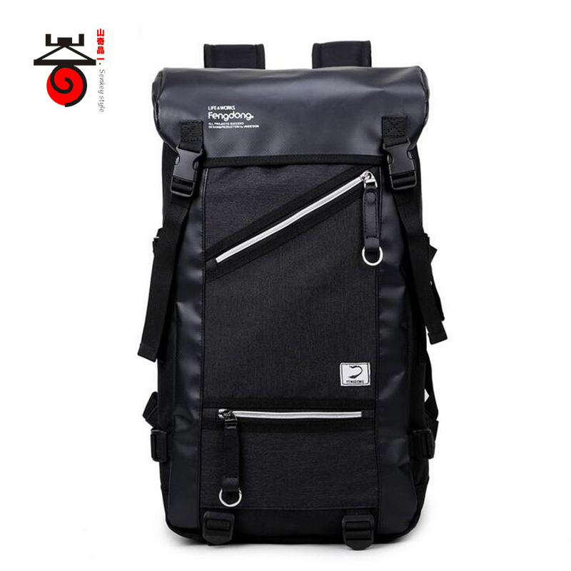 Senkey style 2018 New Fashion Brand Men Backpack Large Capacity Travel Laptop Backpacks High Quality Waterproof Male SchoolBags 2017 senkey style new fashion casual backpack men travel computer laptop backpacks high quality for teenagers student school bag