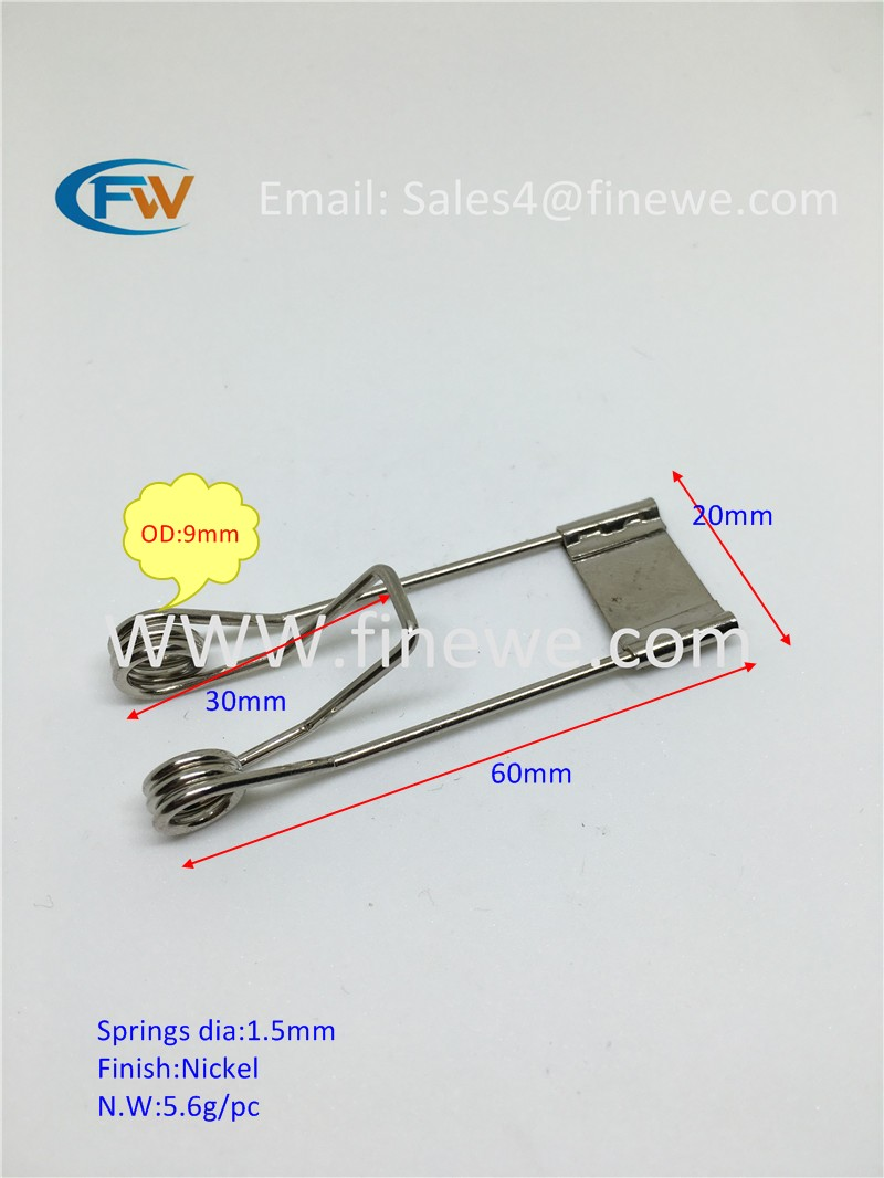 Recessed Lighting Torsion Spring Bracket : Manufacturer torsion spring mounting clip recessed led