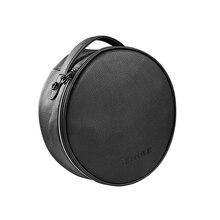 Claite bolso de cuero portátil royole Luna VR Gafas todo en uno Custom Travel carry caja de almacenamiento para la realidad virtual Gafas