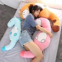 Large Size Toys Cute Unicorn Giraffe Dinosaur Pillow Soft Cushion Stuffed Animals Plush Toys Valentine Gift For Girlfriend