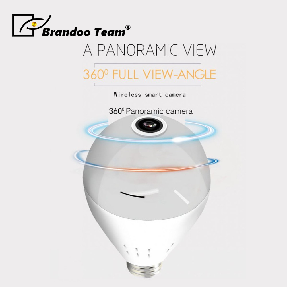 Promotion!!BRANDOO High quality Light -001 HD IP Camera Smart LED Lights Cam night vision Bulb Home Security WIFI CameraPromotion!!BRANDOO High quality Light -001 HD IP Camera Smart LED Lights Cam night vision Bulb Home Security WIFI Camera