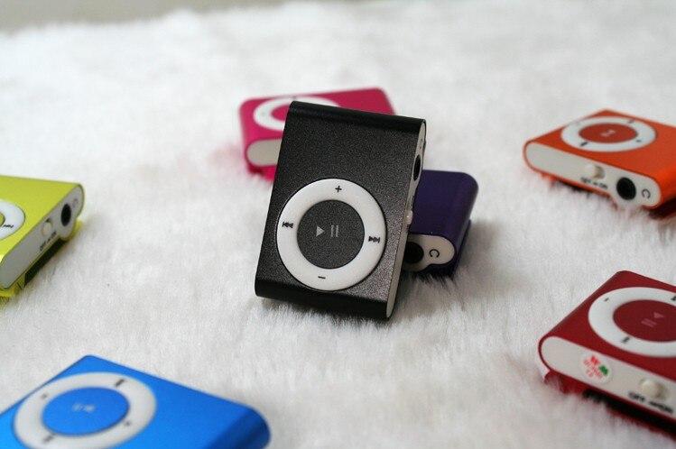 ⑥2 unids color al azar mini clip Reproductores MP3 con micro TF/SD ...