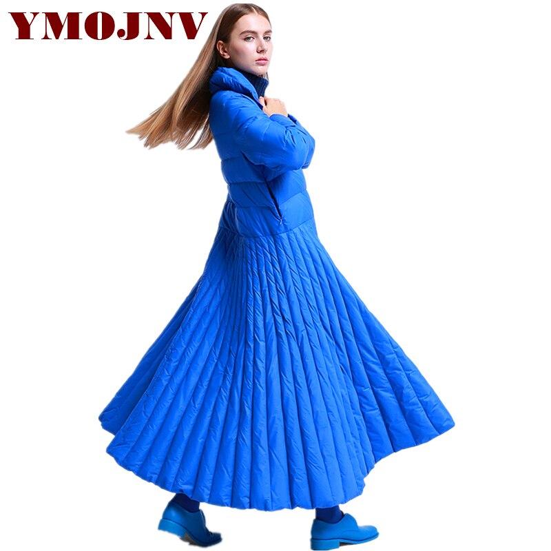 La De longue Femelle X Spécialement Le Bas blue Plume Vestes Mujer Taille Canard Conception D'hiver Jupe Ymojnv Vers Manteau Black Femmes Parka Chaqueta Plus Style wZtCdqpzO