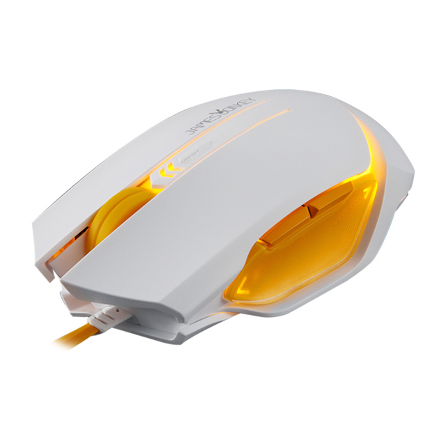 James donkey 112 optical gaming mouse 6 botones 2000 dpi led intellimouse USB Con Cable Para Ordenador PC portátil gamer CS IR LOL