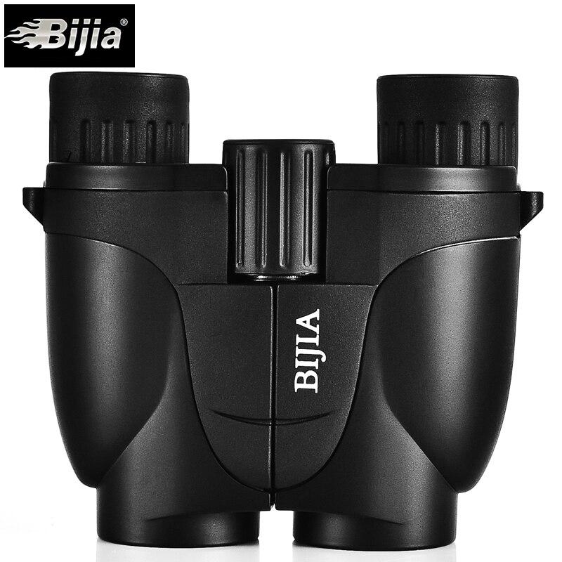 BIJIA 10X25 Mini  Porro Binoculars Telescope Pocket Lightweight Binocular Spotting Scope Portable Binoculars Бинокль