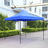 2.9m*2.9m Waterproof Tent Shade Pop Up Garden Tent Gazebo Canopy Outdoor Marquee Market Shade
