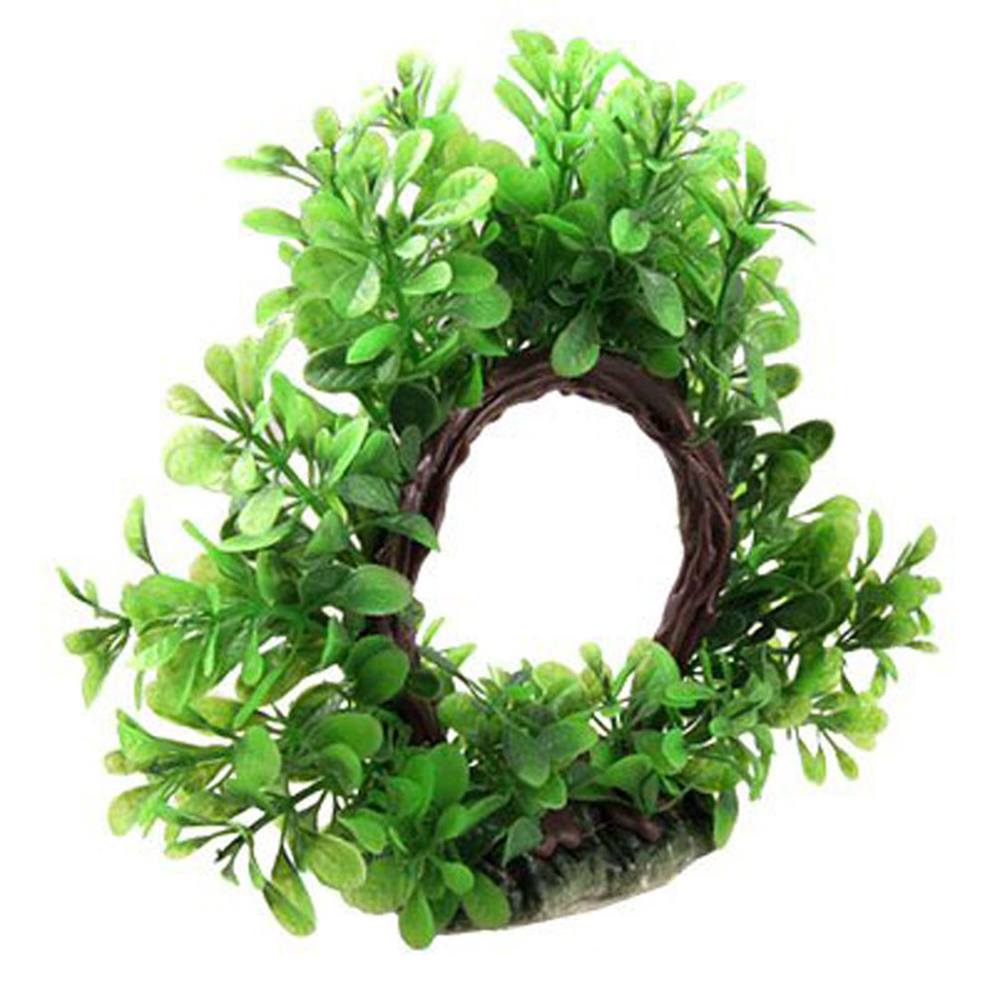 China aquarium fish tank price - High Quality Curve Artificial Plastic Flexible Circular Water Plant Decor For Fish Tank Ornament China