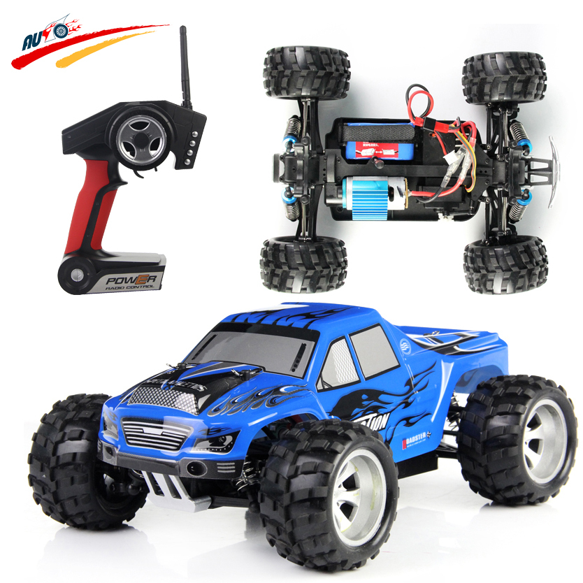 RC Car Wltoys A979 1:18 Scale 2.4G 4WD High Speed Automobile Race Off-road Remote Control Electric Monster Truck Toy wltoys k969 1 28 2 4g 4wd electric rc car 30kmh rtr version high speed drift car