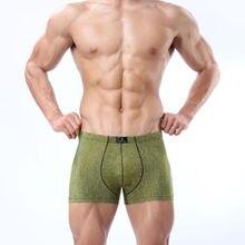 Hot Sale Dominik Men Cotton Underwear Sexy Boxer Army Boxer High Quality Boxer Hot Boxer M/L/XL/2XL/3XL 4111