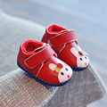 Lovely Baby First Walker Shoes Winter Newborns Girl Slippers Home Babies Light Cute Footwear Warm Leather Babe Shoes 70A1033
