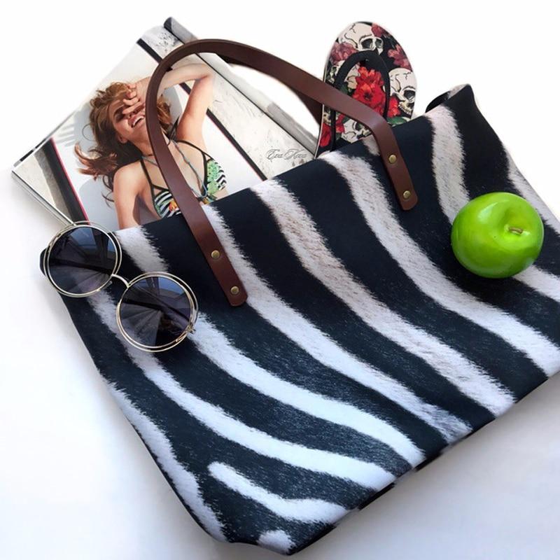 feminina zíper mensageiro casual sacola de compras
