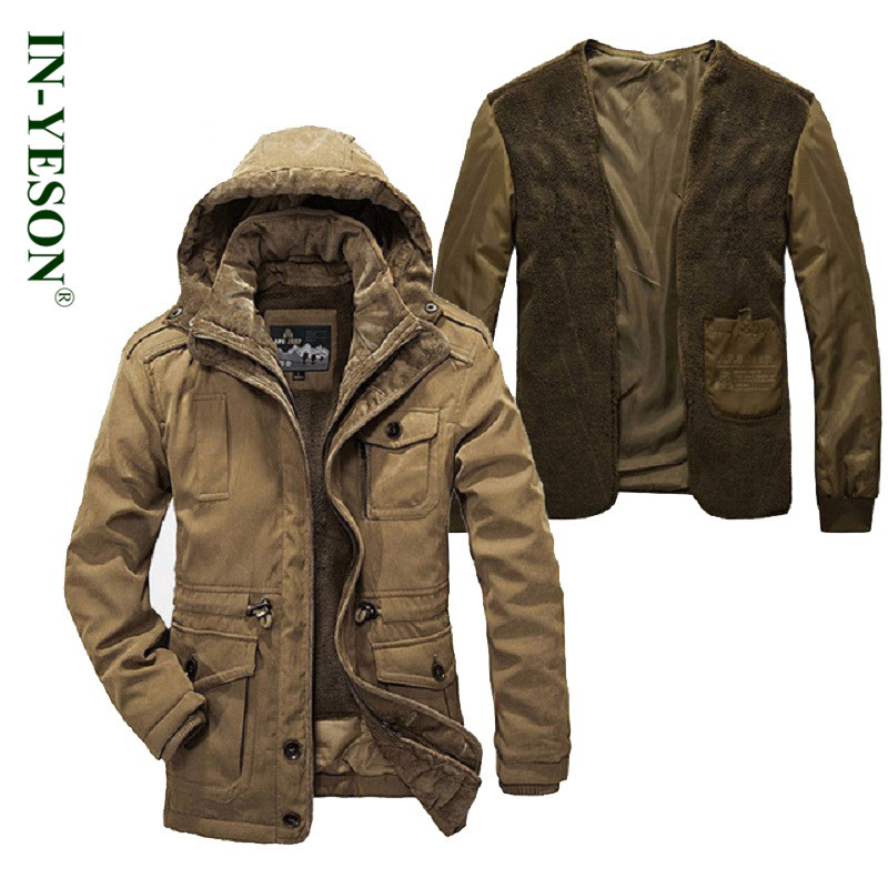 2016 New Fashion Winter Jacket Men High Quality Brand Thickening Casual Cotton Padded Keep Warm Men